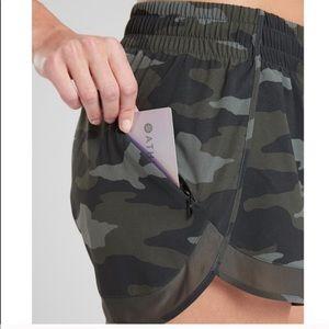Camo athleta shorts